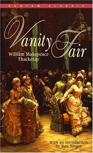Vanity Fair  Reprint 9780553214628 Front Cover