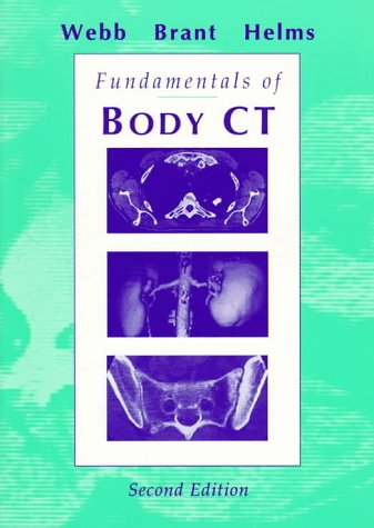 Fundamentals of Body CT  2nd 1997 edition cover