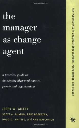Manager As Change Agent   2001 9780738204628 Front Cover