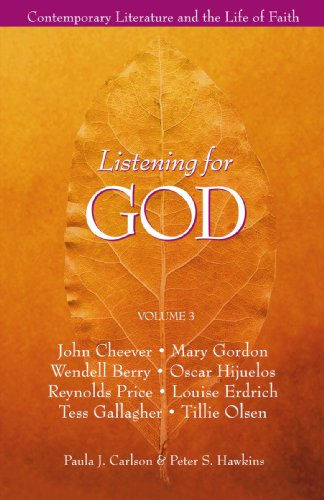 Listening for God : Contemporary Literature and the Life of Faith 1st edition cover