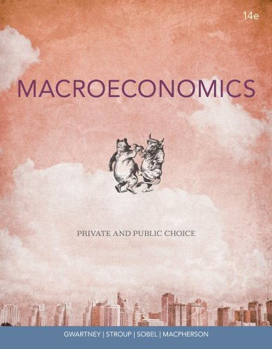 Macroeconomics Private and Public Choice 14th 2013 edition cover