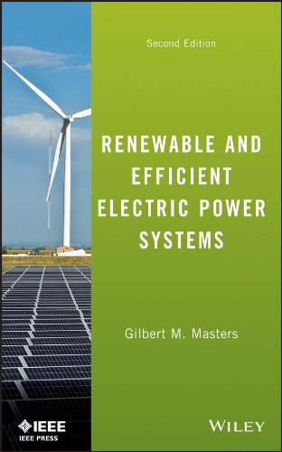 Renewable and Efficient Electric Power Systems  2nd 2013 edition cover