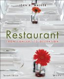 Restaurant: from Concept to Operation  7th 2014 edition cover