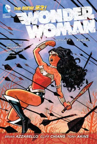 Wonder Woman Blood  2012 edition cover