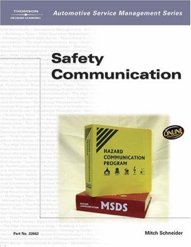 Safety Communication   2003 9781401826628 Front Cover