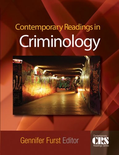 Contemporary Readings in Criminology   2009 edition cover
