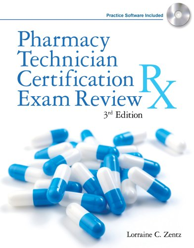 Pharmacy Technician Certification Exam Review  3rd 2012 edition cover