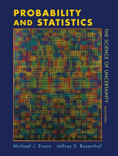 Probability and Statistics The Science of Uncertainty 2nd 2011 (Revised) edition cover