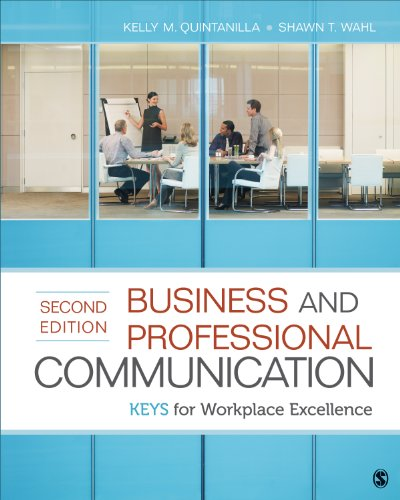 Business and Professional Communication KEYS for Workplace Excellence 2nd 2014 edition cover