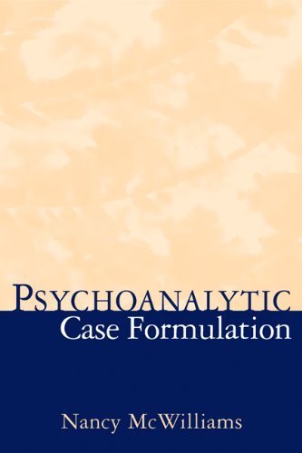 Psychoanalytic Case Formulation   1999 edition cover