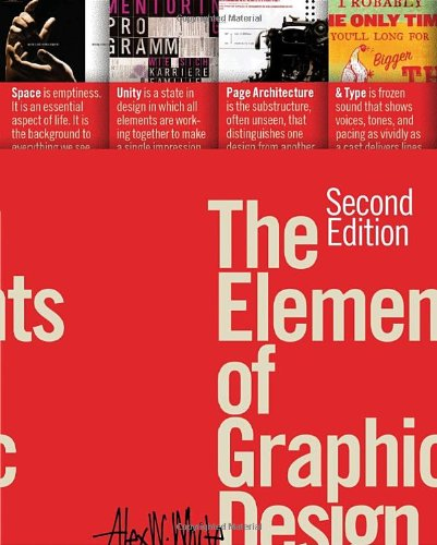 Elements of Graphic Design  2nd 2011 edition cover