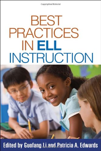 Best Practices in ELL Instruction   2010 edition cover