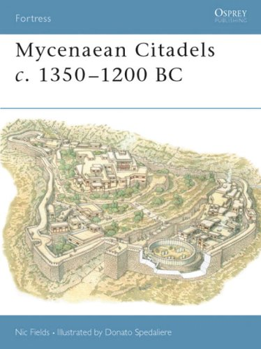 Mycenaean Citadels C. 1350-1200 BC   2004 edition cover