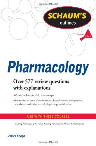 Schaum's Outline of Pharmacology   2010 edition cover