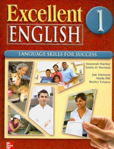 Excellent English, Level 1 Language Skills for Success  2009 (Student Manual, Study Guide, etc.) 9780077197629 Front Cover