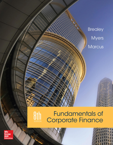 Fundamentals of Corporate Finance  8th 2015 edition cover