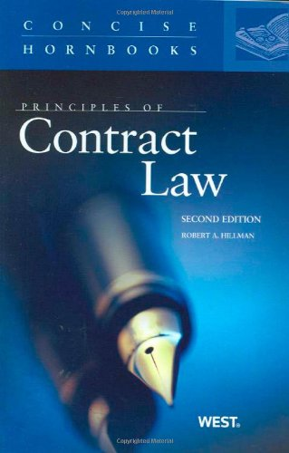 Principles of Contract Law  2nd 2010 (Revised) edition cover