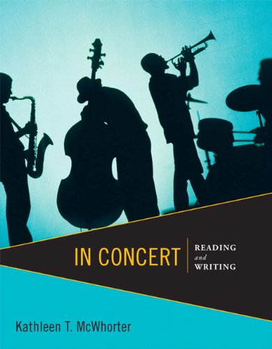 In Concert Reading and Writing  2013 (Revised) edition cover