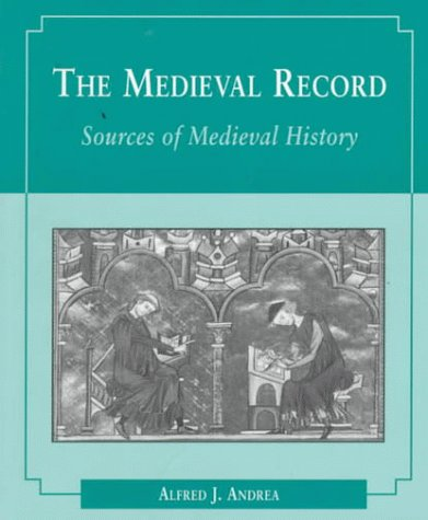 Medieval Record   1997 edition cover