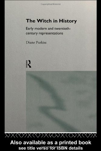 Witch in History Early Modern and Twentieth-Century Representations  1996 edition cover