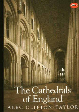 Cathedrals of England  2nd (Revised) 9780500200629 Front Cover