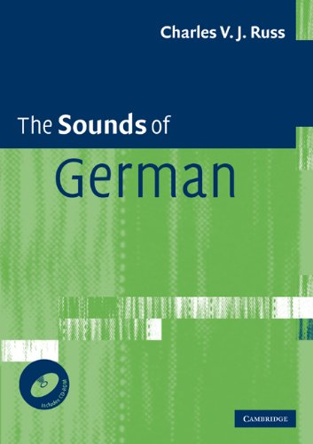Sounds of German   2010 9780521694629 Front Cover