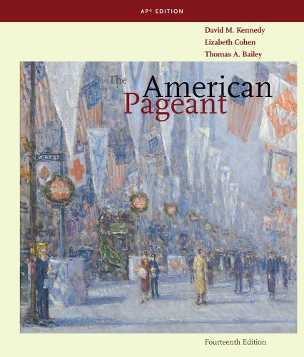 The American Pageant: Ap Edition 14th 2011 9780547166629 Front Cover