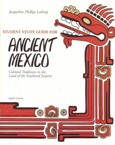 ANCIENT MEXICO-STUDENT STUDY G 8th 2004 9780757509629 Front Cover