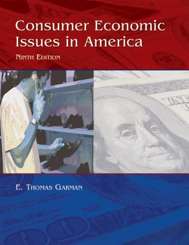 Consumer Economics Issues in America  9th 2006 edition cover