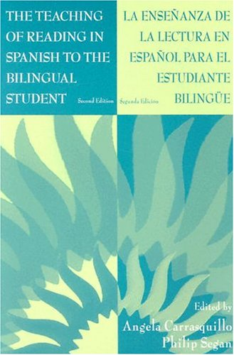 Teaching of Reading in Spanish to the Bilingual Student  2nd 1998 (Revised) edition cover