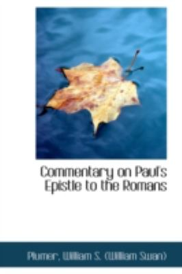 Commentary on Paul's Epistle to the Romans  N/A 9781113180629 Front Cover