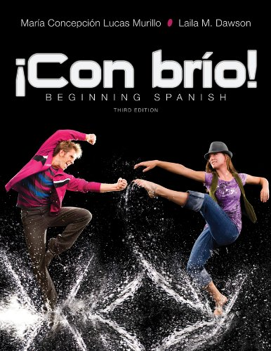 �con Br�o! Beginning Spanish 3rd 2013 edition cover