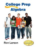 College Prep Algebra  N/A 9781285182629 Front Cover