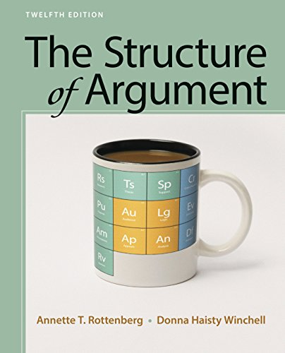 The Structure of Argument:  9th 2017 9781319056629 Front Cover