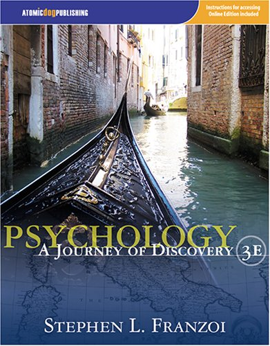 Psychology A Journey of Discovery 3rd 2007 9781592602629 Front Cover