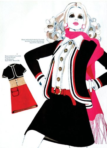 100 Years of Fashion Illustration   2007 edition cover