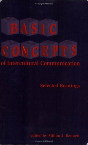 Basic Concepts of Intercultural Communication Selected Readings  1998 edition cover