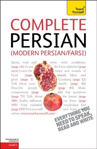 Teach Yourself - Complete Persian  2nd 2011 edition cover