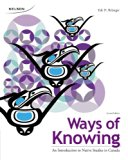 Ways of Knowing An Introduction to Native Studies in Canada 2nd 2013 edition cover