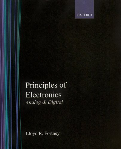 Principles of Electronics Analog and Digital  1987 edition cover