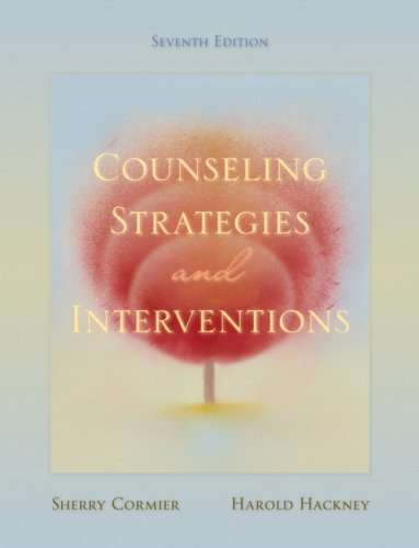 Counseling Strategies and Interventions  7th 2008 edition cover