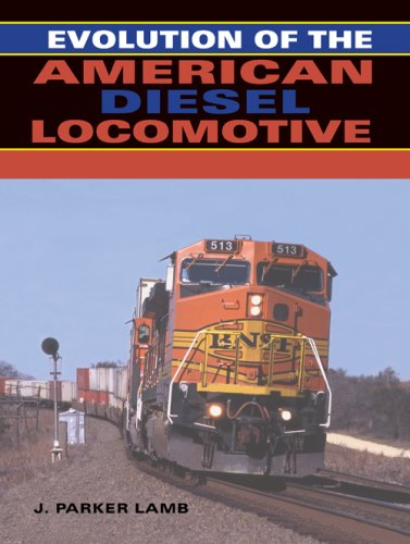 Evolution of the American Diesel Locomotive   2007 9780253348630 Front Cover