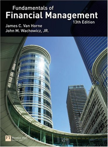 Fundamentals of Financial Management  13th 2009 edition cover