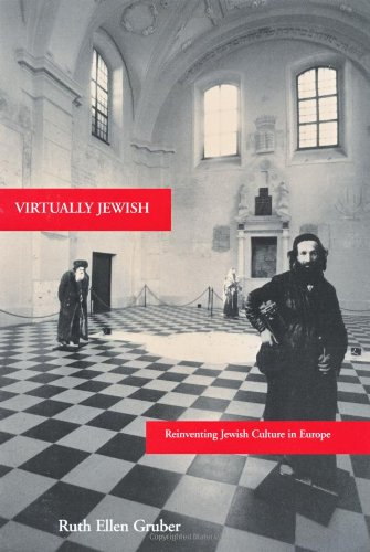 Virtually Jewish Reinventing Jewish Culture in Europe  2002 edition cover