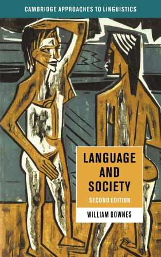 Language and Society  2nd 1998 (Revised) 9780521456630 Front Cover