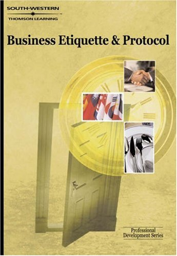 Business Etiquette and Protocol   2001 9780538724630 Front Cover