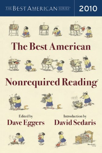 Best American Nonrequired Reading 2010   2010 edition cover