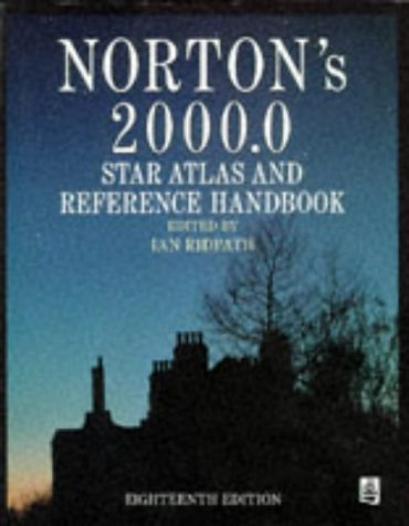 Norton's 2000 Star Atlas Reference Handbook 18th 1989 edition cover