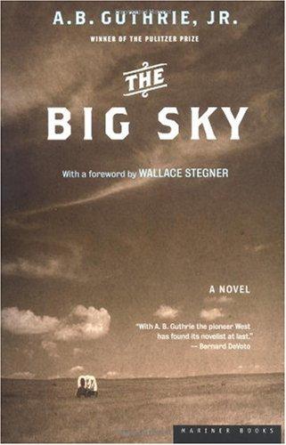 Big Sky   2002 (Reprint) edition cover