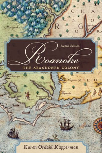 Roanoke The Abandoned Colony 2nd 2007 (Revised) edition cover